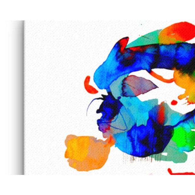 """Miami Splash"" Abstract Art Print - Image 4 of 4"