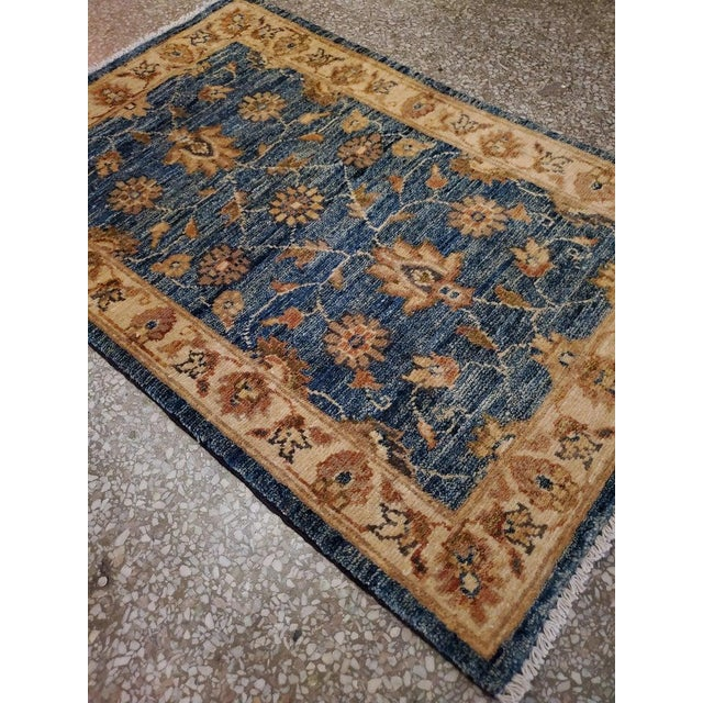 "Islamic Afghan Floral Rug-2'x3"" For Sale - Image 3 of 7"