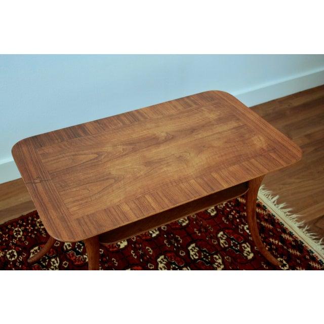 Widdicomb Klismos Sabre Leg Table by T. H. Robsjohn Gibbings for Widdicomb For Sale - Image 4 of 13