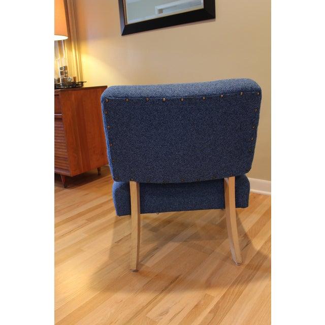 Vintage Mid-Century Modern Slipper Chair - Image 5 of 5