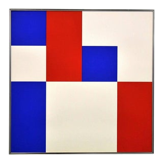 """Squares"" Lithograph by Bob Bonies For Sale"