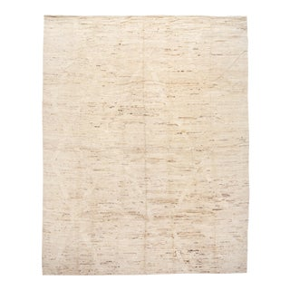 21st Century Modern Moroccan-Style Oversize Wool Rug 13 X 16 For Sale