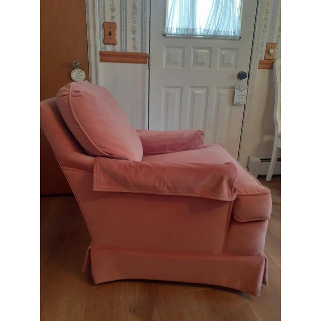1970s Drexel Heritage Frederick Edward Distictive Seating Club Chairs - A Pair For Sale - Image 5 of 12
