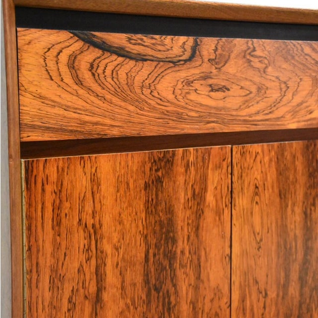 Mid-Century Rosewood and Walnut Credenza - Image 10 of 11