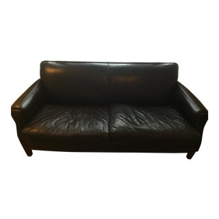Cisco Brothers for Anthropologie Leather Sofa For Sale