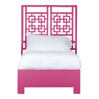 Palm Springs Bed Twin - Bright Pink For Sale
