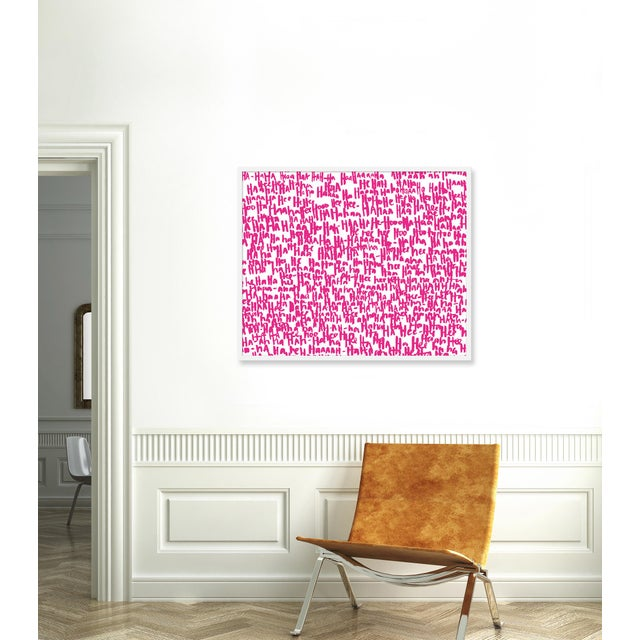 Giclée on textured fine art paper with white frame. Unframed print dimensions: 39.75x29.75. Largely influenced by her...