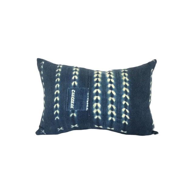 Vintage African Indigo Pillow - Image 1 of 4