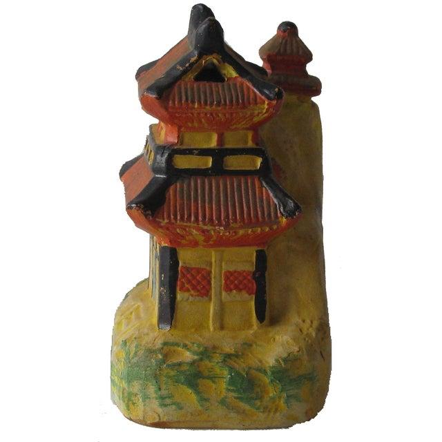 Vintage Pagoda Incense Burner - Image 3 of 5