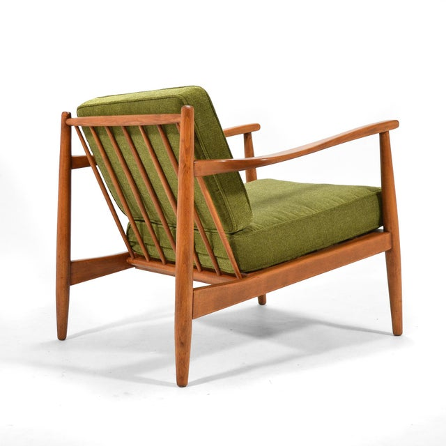 Danish Modern Alf Svensson Lounge Chair by Dux For Sale - Image 3 of 7
