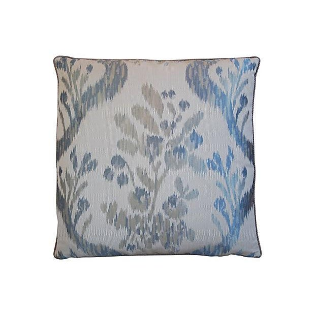 Custom Tailored Old World Weavers Jacquard Silk Feather/Down Pillow - Image 2 of 6