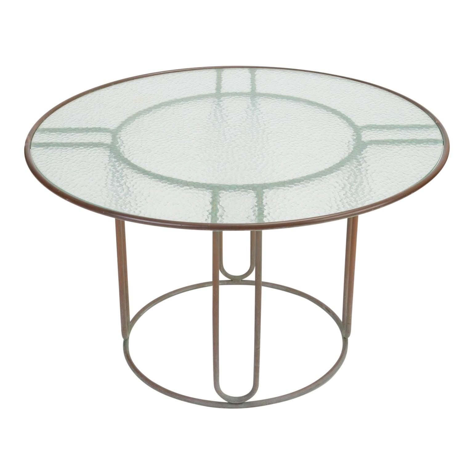 Brown Jordan Round Patio Table