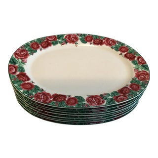 Briarcliff Cooks Club Platters - Set of 8 For Sale