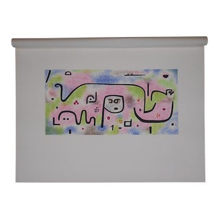 Vintage Paul Klee Ltd. Ed. Abstract Silkscreen Print For Sale