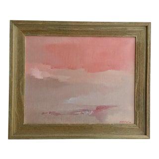 """""""Sunset, South West""""-Custom Framed-Signed-Original Landscape For Sale"""