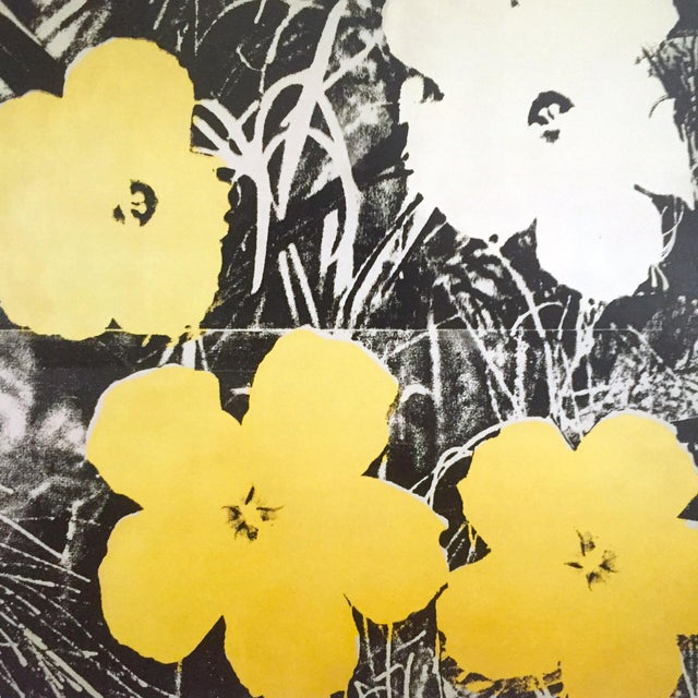 "Andy Warhol Foundation Collector's Pop Art Lithograph Print ""Flowers"" 1966 For Sale In New York - Image 6 of 10"