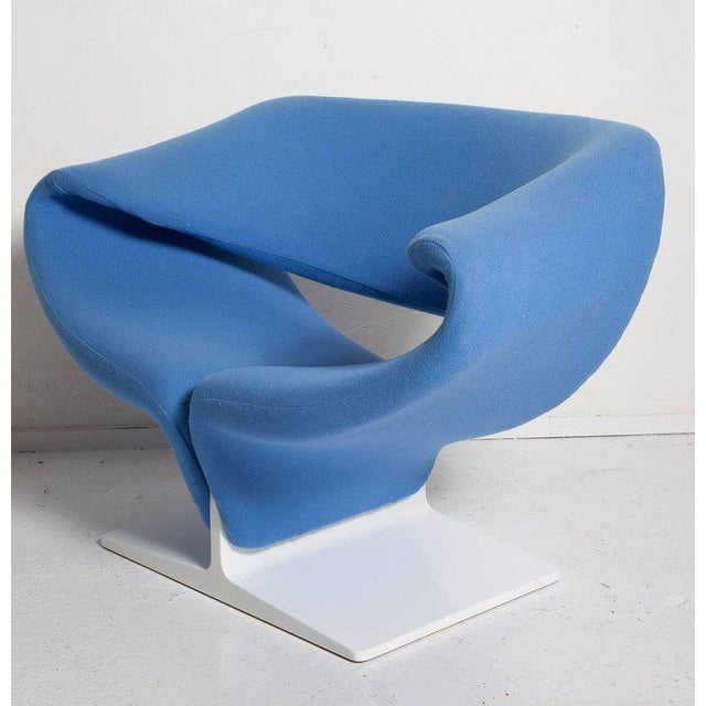 Vintage Pair of Ribbon Chairs by Pierre Paulin, Model F582 for Artifort For Sale In Miami - Image 6 of 11