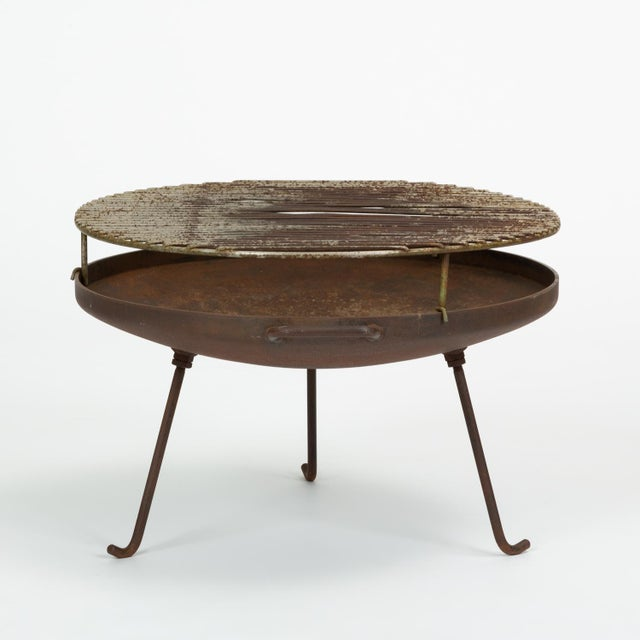 Brown California Modern Barbecue or Brazier by Stan Hawk for Hawk House For Sale - Image 8 of 13