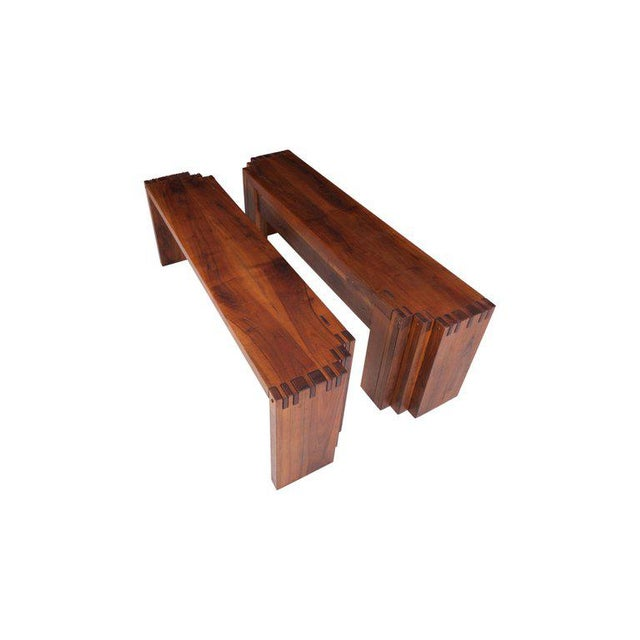 Rivadossi Hardwood Dining or Console Table For Sale - Image 10 of 13