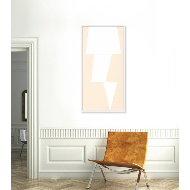 Giclée on textured fine art paper with white frame. Jason Trotter is a Los Angeles-based artist known for his color-...
