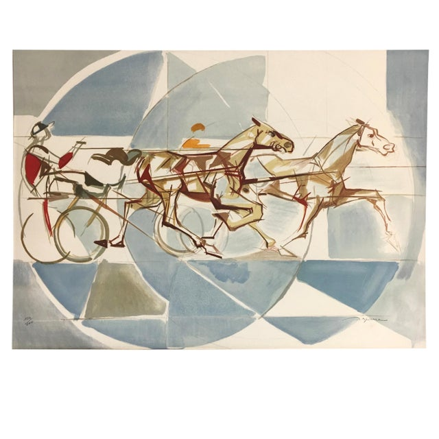 Jacques Ceria Despierre (1912 Saint-Etienne in France - December 5, 1995 in Paris, France). THE RACE is an original...