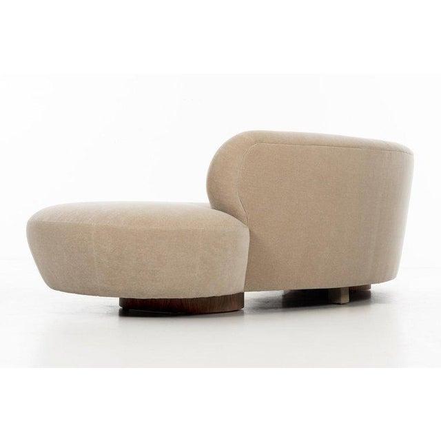 Walnut Vladimir Kagan Cloud Sofa For Sale - Image 7 of 13