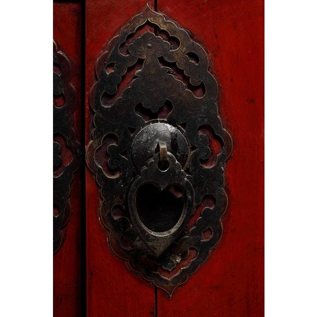 Antique Chinese Wedding Cabinet - Image 3 of 4