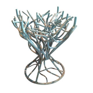 Torqouise Iron Coral Table Base