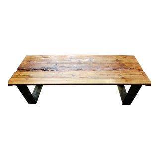 Modern Barn Wooden Table For Sale