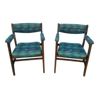 1960s Mid-Century Chairs - a Pair For Sale