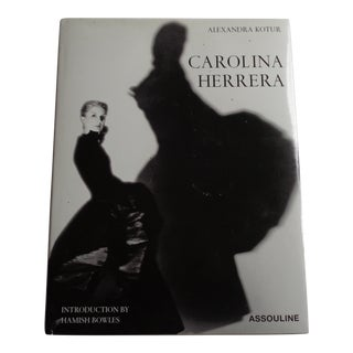 Carolina Herrera Vintage Coffee Table Fashion Book