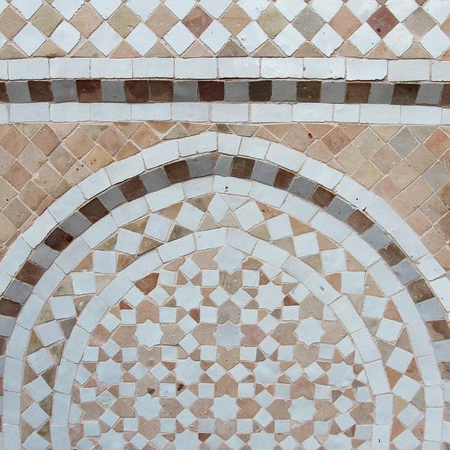 Moroccan Tile Wall Fountain - Image 3 of 4