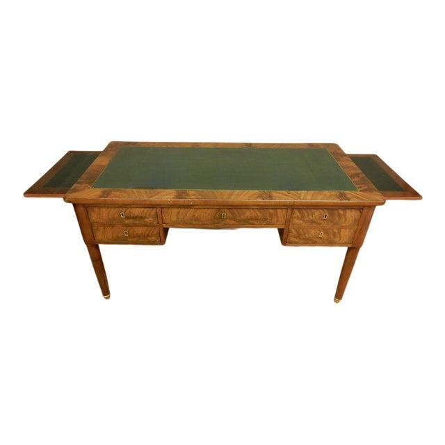Elegant Louis XVI 19th Century Walnut Desk For Sale
