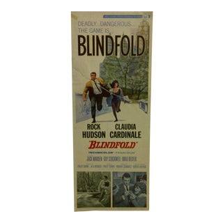 """Blindfold"" Vintage Movie Poster For Sale"