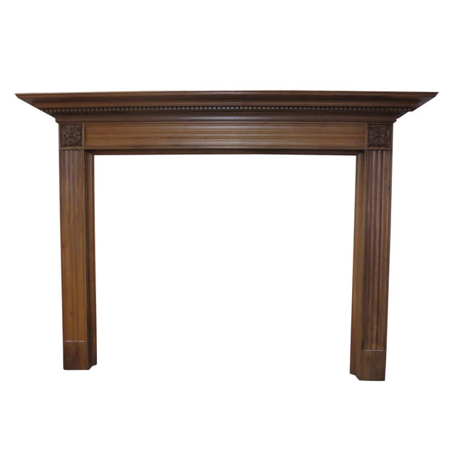 Checkendon American Walnut Mantle - Image 1 of 5