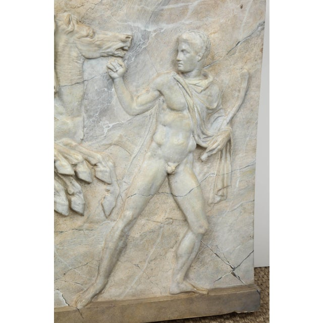 Neoclassical Plaster Panel For Sale In New York - Image 6 of 9