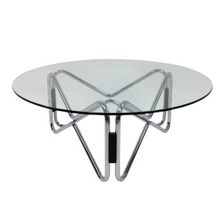 A Geometrically Shaped Occasional Table For Sale