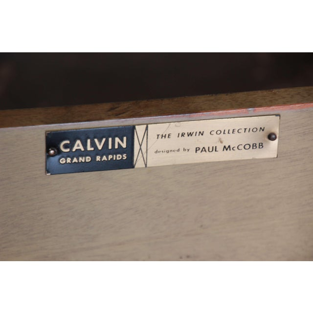 "Paul McCobb for Calvin ""Irwin Collection"" Sideboard Credenza For Sale - Image 11 of 12"