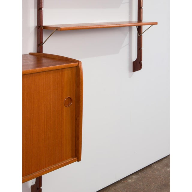 Brown Ergo Wall Unit for Blindheim Møbelfabrik For Sale - Image 8 of 10