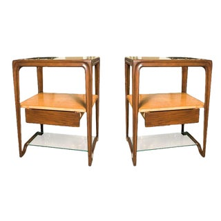 1950s Dunbar Night Stands - a Pair For Sale