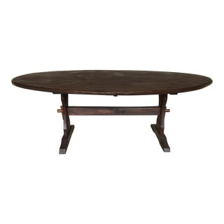 Hunt Country Furniture Trestle Dining Table