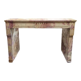 Verona Marble Mantel, circa 1780 For Sale