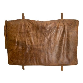Leather Gym Mattress Czech, 1930 For Sale