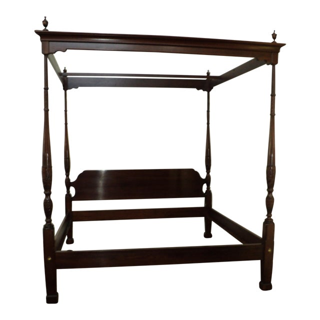 Ethan Allen Canopy Bed For Sale