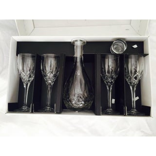 Royal Doulton Crystal Wine Decanter & Glasses - Set of 5 Preview