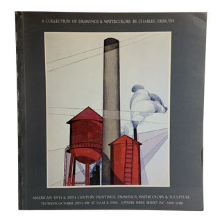 1976 Drawings and Watercolors Charles Demuth Book For Sale
