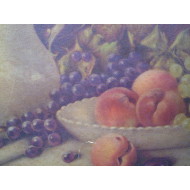 Framed Fruits & Flowers Still Life by A. Leder For Sale In New York - Image 6 of 11