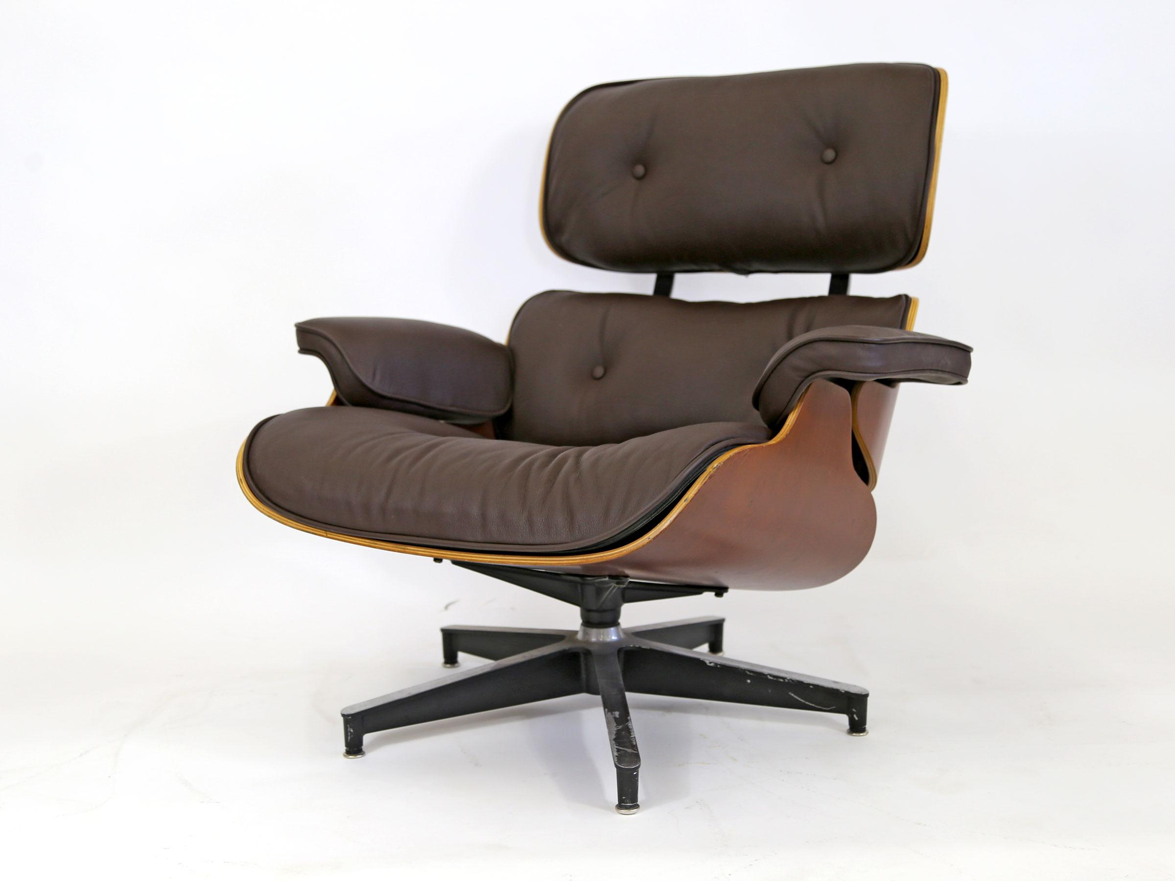 JFK Concorde Room Original Eames 670 Lounge Chair   Image 4 Of 11