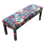 Image of Late 20th Century Milo Baughman Parsons Style Long Bench For Sale