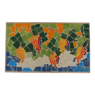 Framed Custom Vineyard Mosaic For Sale